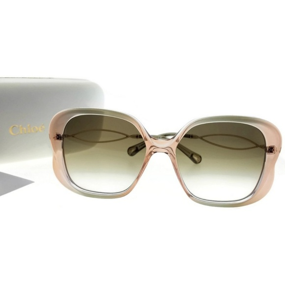 93ca78a728b2 CE740S-324-56 Square Women s Grey Frame Sunglasses. NWT. Chloe